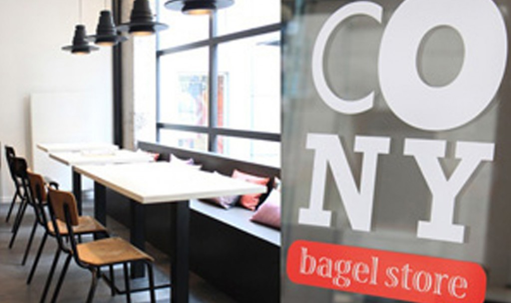 cr ation logo cony bagel store nantes