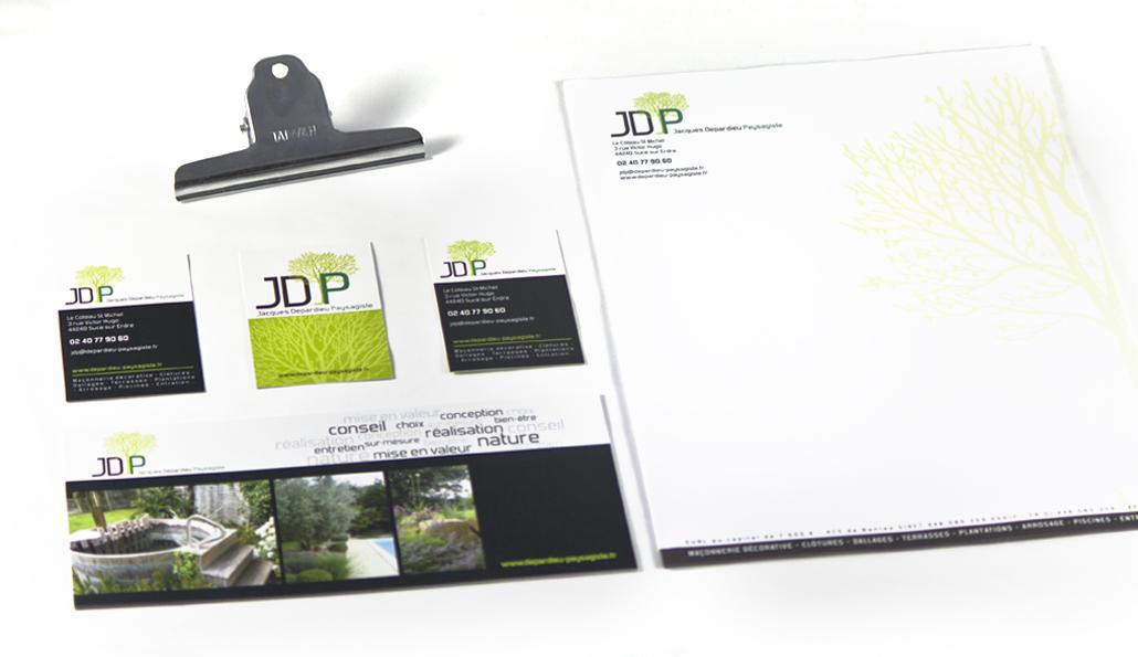 Création de carte de visite et de flyers Nantes - Studio graphique Vert Anis