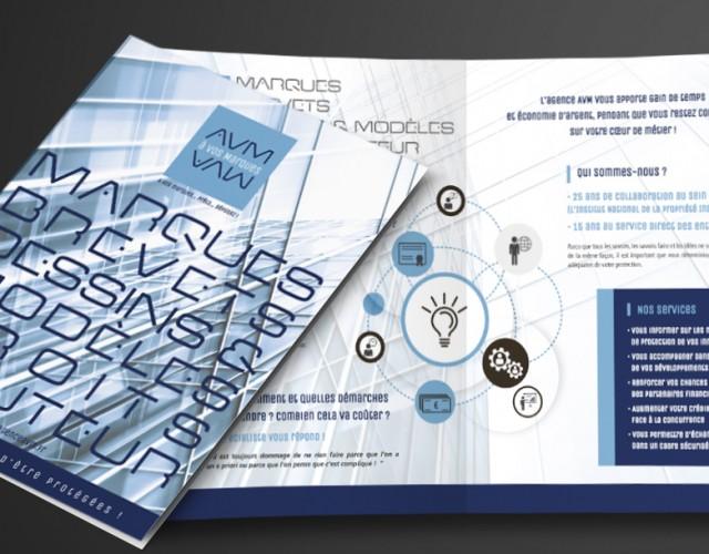 Brochure de présentation_AVM_création graphique studio Vert Anis à Nantes