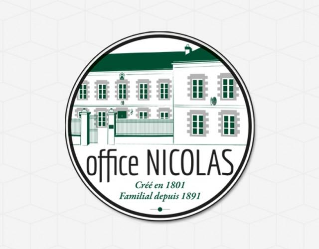 création identité visuelle Office Nicolas Nantes - Studio design graphique Vert Anis
