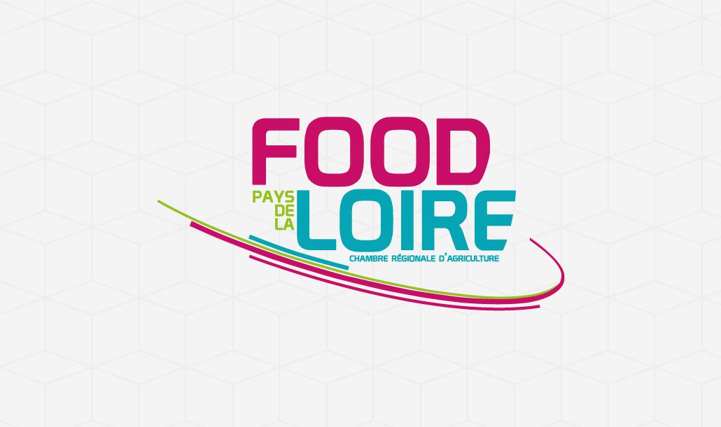 création identité visuelle et charte graphique Food Loire Chambre régionale d'Agriculture des Pays de la LoireNantes - Studio design graphique Vert Anis