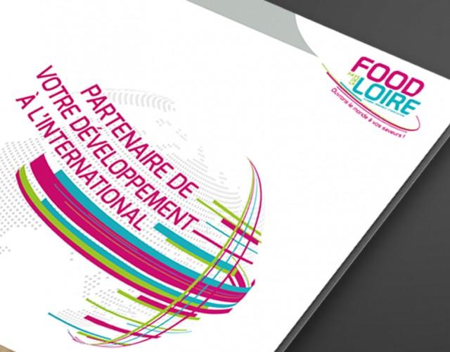 Création graphique tous documents - Food'Loire - Chambre Régionale d'Agriculture des Pays de la Loire - Studio de création graphique Vert Anis Design Graphique à Nantes