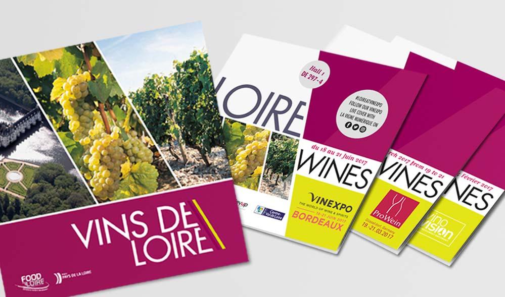 Studio graphique vert anis for Salon des vins de loire 2017